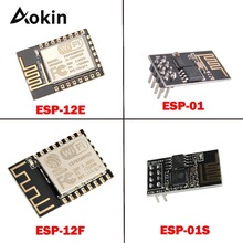 ESP8266 ESP01S ESP12E ESP12F ESP-12E ESP-01 ESP-01S ESP01 ESP-12F Remote Serial Port WIFI Wireless Module 3.3V SPI For Arduino