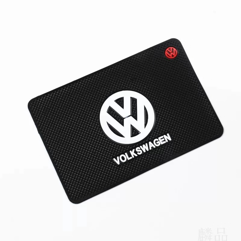 Car Styling Excellent Mat Mobil Phone Non Slip Mat For VW Volkswagen Golf  Polo Jetta Interior Accessories Car-Styling Sticker