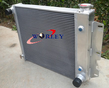 3 REIHE für Jeep Wrangler TJ YJ Aluminium Heizkörper/V8 Umwandlung 87-95 97-02