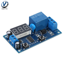 DC 12V Cycle Delay Timer Relay Adjustable Time Control Switc