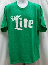 Pre Owned Miller Lite Beer Green T Shirt Size 2Xl Harajuku Streetwear Shirt Mens Day P126(China)