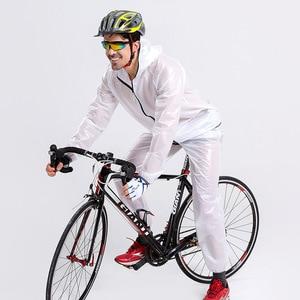 Image 4 - Chubasquero deportivo para hombre y mujer, traje impermeable para pescar al aire libre, a la moda, Unisex, para montar en motocicleta, impermeable, para adultos