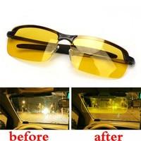 Masculino feminino anti reflexo visão noturna uv driver goggles gafas hd visão noturna condução óculos polarizados condução óculos de sol|Câmeras de vigilância| |  -