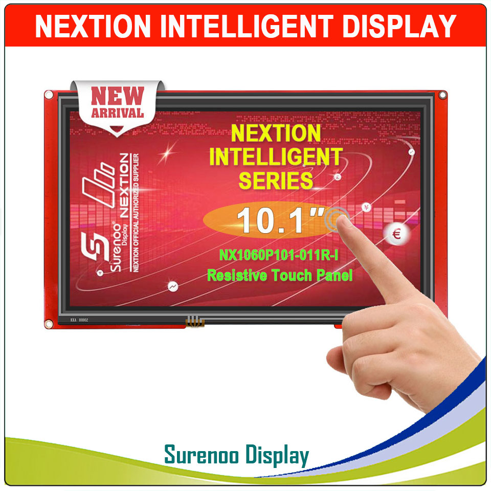 10,1 NX1060P101 Nextion Интеллектуальный HMI USART UART последовательный TFT ЖК модуль Дисплей резистивный или емкостный дисплей Панель для Arduino - 2