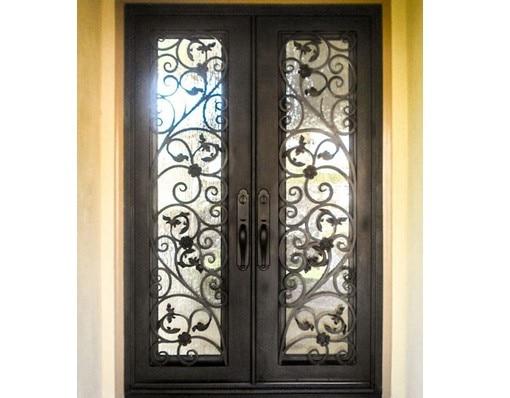 Shanghai Hench Brand China Factory 100% Custom Made Sale Australia Luxury Iron Doors