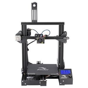 Image 2 - 2019 Ender 3/Ender 3X 3d 프린터 diy 키트 대형 프린터 3d 연속 인쇄 power. magnetic plate creality 3d ender 3