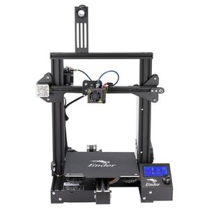 Image 2 - Ender 3/Ender3X 3D Printer Kit Large Size Printer 3D Continuation Print Power Magnetic Plate Option Creality 3D