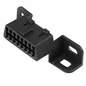 Image 2 - 10 adet/grup 16pin obd2 dişi konnektör OBD2 OBD 2 16Pin dişi açılı konnektör OBD kadın tel yuva dişi konnektör