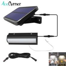 Acecorner Upgraded Single Head Solar Pendant Lights Outdoor Indoor Auto On Off Lamp Pull Switch for Barn Room Balcony Chicken