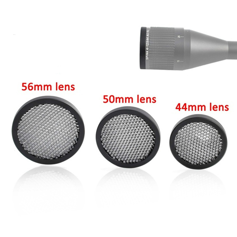 Magorui Anti-Reflection Sunshade Scope Protective Cover Mesh 44MM/50MM/56MM Cover For Optic Scope