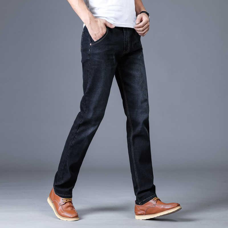 2020 NEUE Männer Klassische Jeans Masculina Overalls Jean Homme Schlank Hip Hop Hosen Bretelles Gießen Heren Spijkerbroek Pantalon