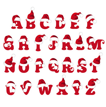 AZSG Cartoon Christmas Hat Clear Stamps/Seals For DIY Scrapbooking/Card Making/Album Decorative Silicone Stamp Crafts