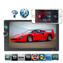 Car Radio HD 7 Touch Screen Stereo USB Bluetooth 12V 2 Din FM ISO Power Aux Input Auto MP5 Player SD USB Dropshipping murray w key words 12b mountain adventure