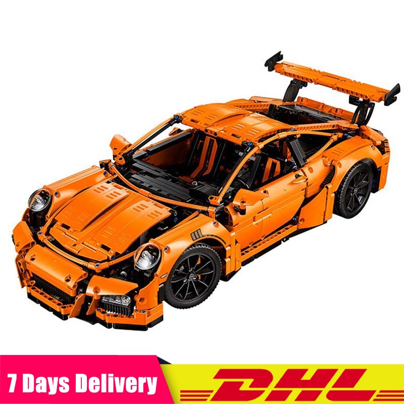 IN Stock <font><b>Technic</b></font> Series Compatible with <font><b>Legoinglys</b></font> Race Car Bricks <font><b>42056</b></font> 20001 Model Building Blocks Toy Christmas Gifts image