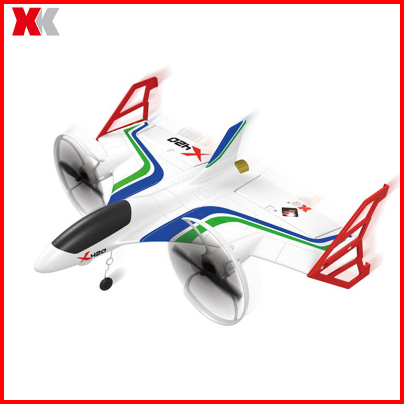 2019 New WLtoys XK X420 X520 Rc Airplane 6ch 3d 6g Takeoff And Landing Stunt Rc Drone Quadrocopter Remote Control Airplane in RC Airplanes from Toys Hobbies