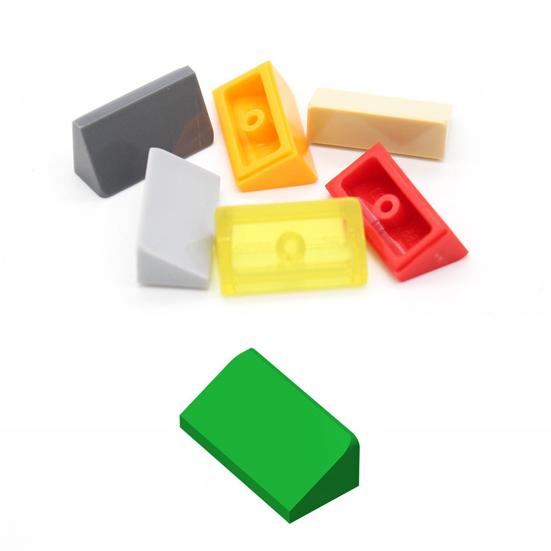 20pcs/50pcs Building Blocks Parts 1x2x2 Bricks 16 Colors Building Blocks Parts  Educational Creative Gift Toys For Children Diy
