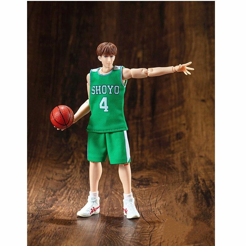 18CM chelem DUNK basket-ball SHOYO Coach Point garde Fujima Kenji mobile GK Statue PVC figurine Collection jouet A8