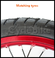 -Matching tyres?