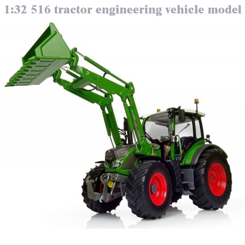 Rare  Fine  1:32  516 Tractor Engineering Vehicle Model  Alloy Collection Model