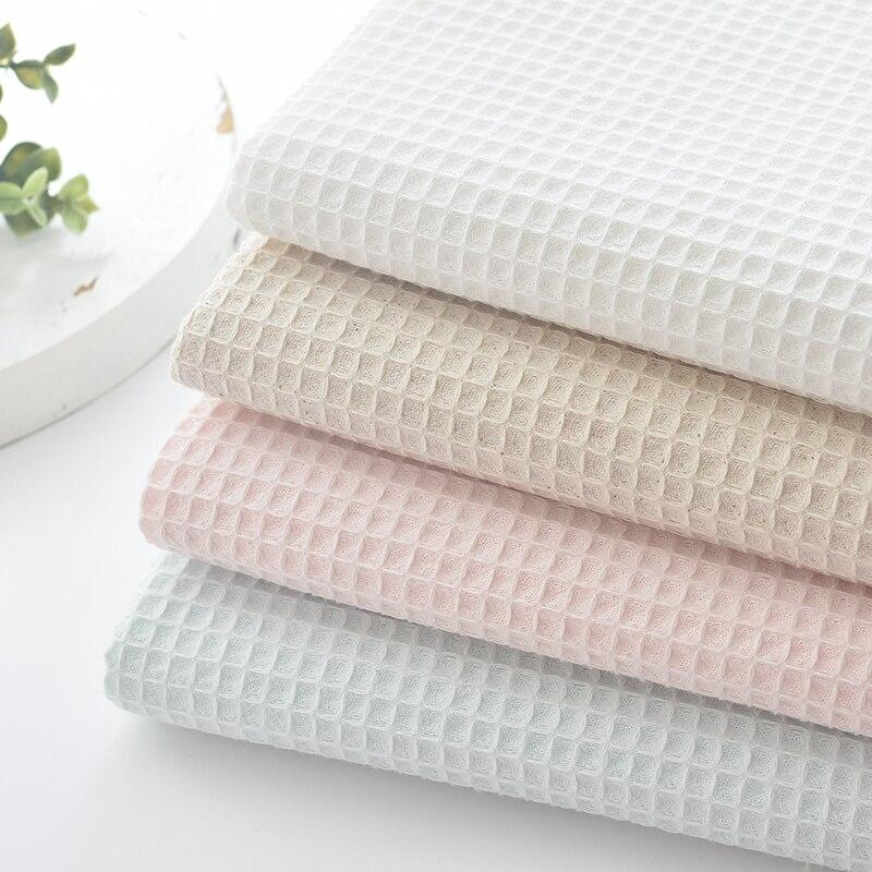 Ткань Мягкое вафельное 50 см x 112 см, серия 5 цветов, одежда для сна «сделай сам» для квилтинга и шитья, банные халаты, наволочка, материал для по...