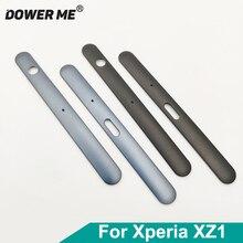 Dower Tôi Trên Và Dưới Khung Khung Xe Lên Xuống Ốp Viền Dành Cho Sony Xperia XZ1 G8341 G8342 Thay Thế
