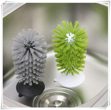 Bottle brushes. An ingenious way to clean bottles.
