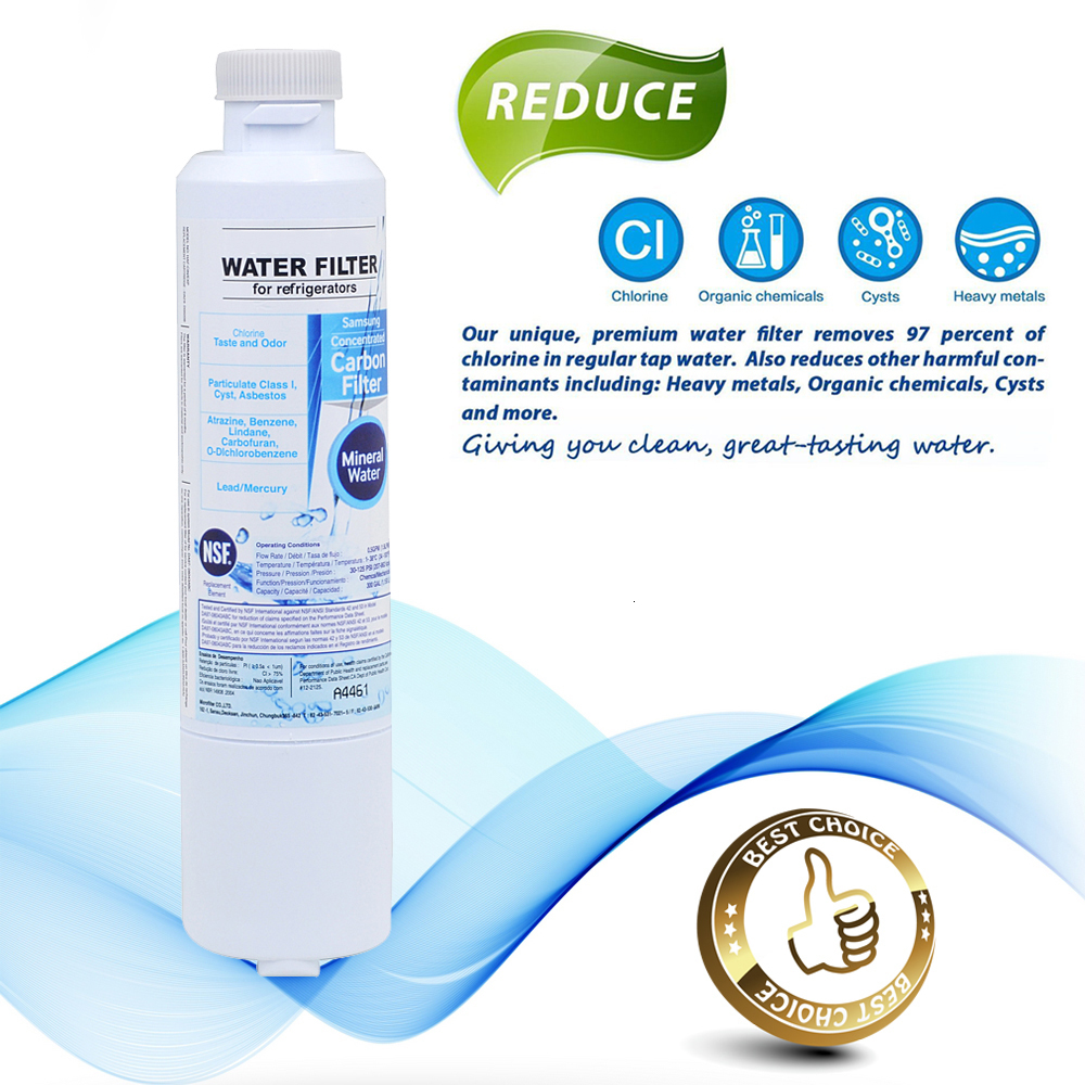 Hot Sale! Refrigerator Water Filter For Samsung Da29 00020b Aqua pure Plus Activated Carbon Replacement Water Filter 2 Pcs/lot - 3