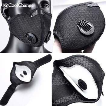 Coronavirus Dust Mask Activated Carbon With Filter Anti-Pollution Cycling Sport Bicycle MTB Bike Face Mask