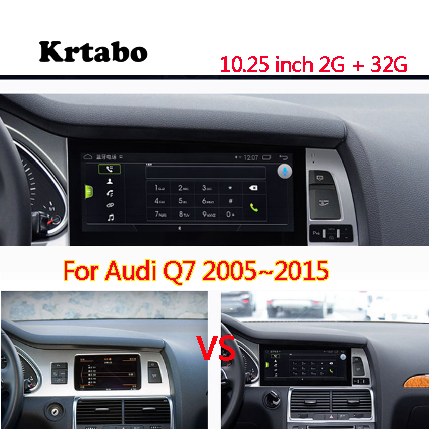 For Audi Q7 2007 2008 2009 2010 2015 10 25 Android 7 1 Car Radio Gps Navigation Android Dvd Player Car Multimedia Auto Radio Car Multimedia Player Aliexpress