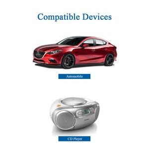 Image 5 - Auto antena radiowa fm z podstawa magnetyczna Radio samochodowe stacja radiowa antena odtwarzacz CD antena uniwersalny adapter Z133 B100DL30