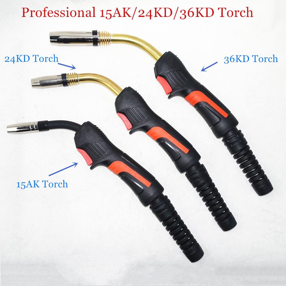 Professional 15AK 24KD 36KD Torch MIG Torch European Style Welding Gun Industrial Level Welding Torch