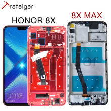 Trafalgar Display For Huawei Honor 8X LCD Display 8X MAX Touch Screen For Honor 8X MAX Display With Frame JSN L22 JSN L21