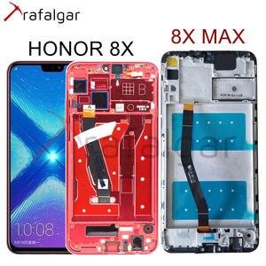 Image 1 - Trafalgar Màn Hình Cho Huawei Honor 8X MÀN HÌNH Hiển Thị LCD 8X MAX Màn Hình Cảm Ứng Cho Danh Dự 8X Hiển Thị TỐI ĐA Với Khung JSN L22 JSN L21