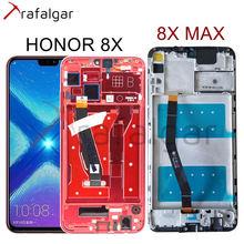 Trafalgar ekran için Huawei onur 8X LCD ekran 8X MAX dokunmatik ekran onur 8X MAX ekran çerçeve ile JSN L22 JSN L21