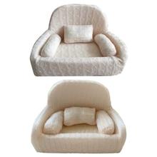 4 Pcs/set Newborn Photography Props Baby Posing Sofa Pillow Set Chair Decoration P15C