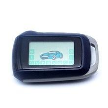A94 للنسخة الروسية المفاتيح 2 طريقة نظام إنذار للسيارة Starline A94 LCD التحكم عن بعد مفتاح فوب سلسلة