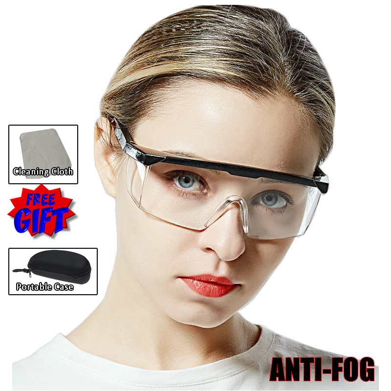 New Work Safety Protective Glasses Impact-Resistant Wind Dust Proof Safety Goggles For Chemical Research Cycling Riding Welding