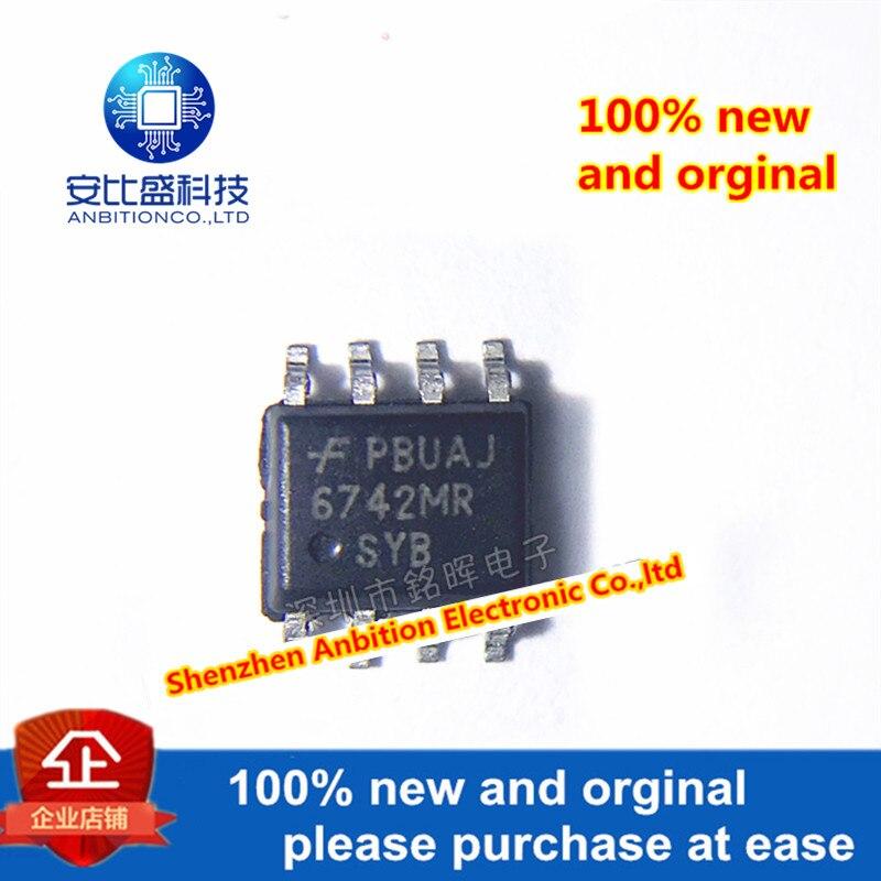 10 шт. 100% новый и оригинальный FAN6742MR 6742MR FAN6742 SOP8 в наличии на складе