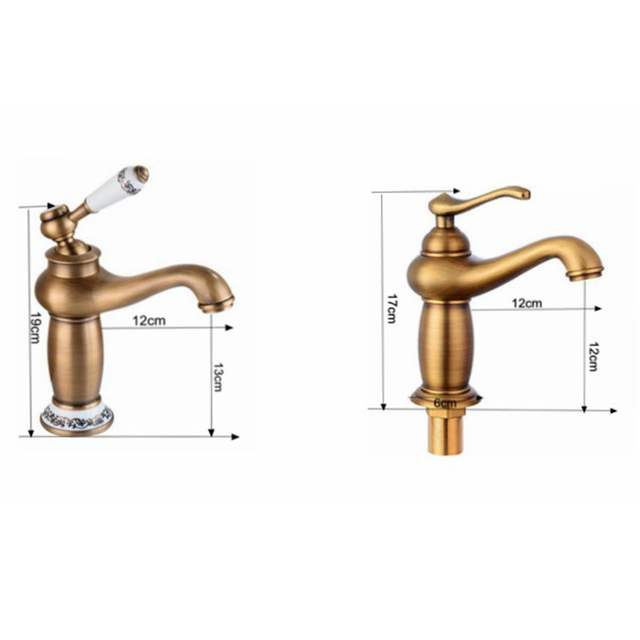 Antique Bronze Finished Bathroom Faucet