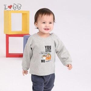 Image 3 - Bebek erkek T Shirt uzun kollu Tees giyim erkek sıcak en sevimli 6 24 ay için