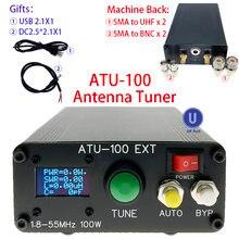 ATU-100 atu100 maszyna 1.8-50MHz ATU100mini automatyczny Tuner antenowy N7DDC 7x7 3.2Firmware zaprogramowany OLED