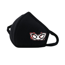 Game Persona5 Mouth Face Mask woman man Printed Dustproof Breathable Winter Warm Thicken Mouth Mask