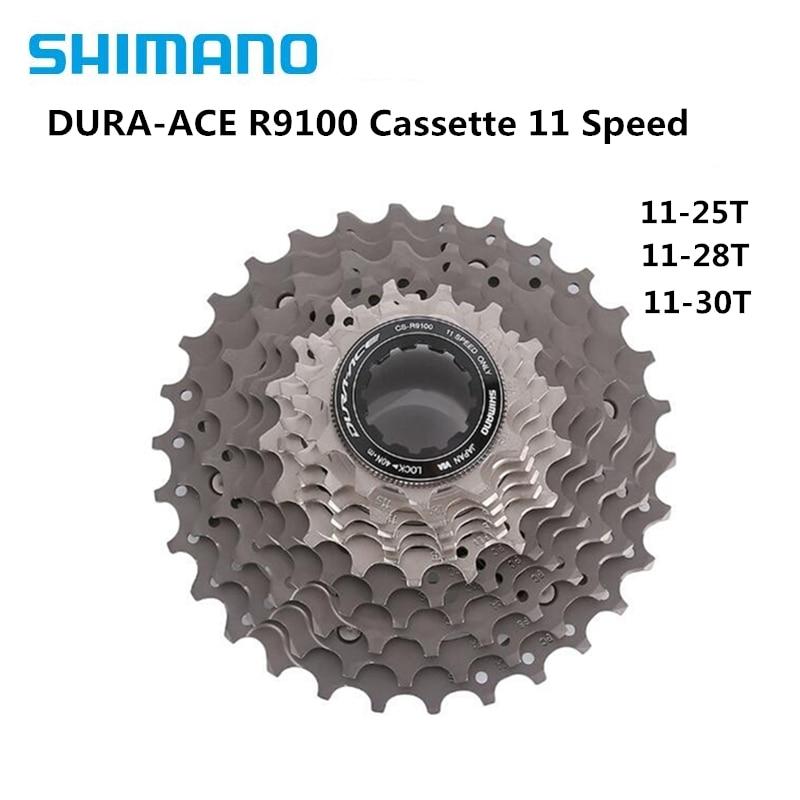 Shimano Dura-Ace CS-9000 11 SPD Speed Cassette Sprocket Carbon Road Bike 12-28T