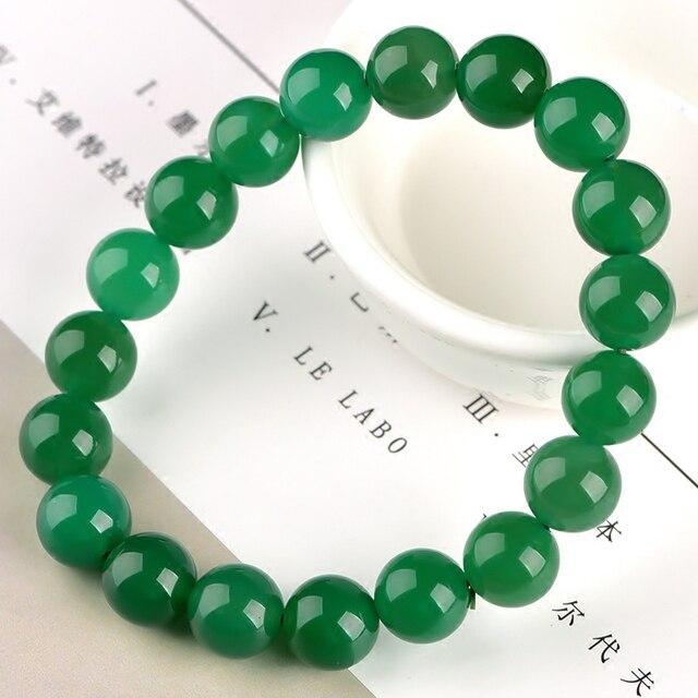 Bracelet En Perle De Jade