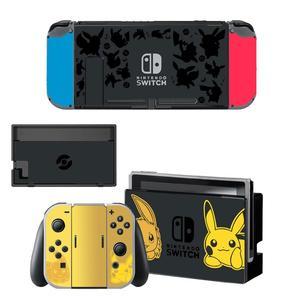 Image 4 - Dock chargeur support de support protecteur décran autocollant de protection housse de peau pour Nintendo Switch NS Console Joy con coque de manette