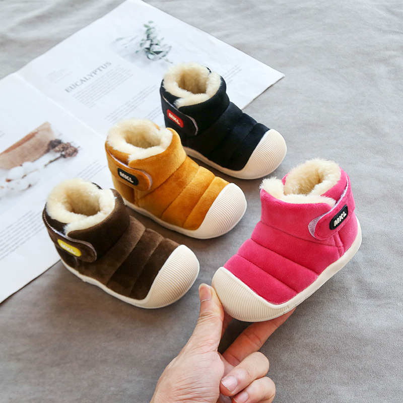 Snow Boots Toddler Girls Winter Warm Baby Infant Boys Outdoor Shoes