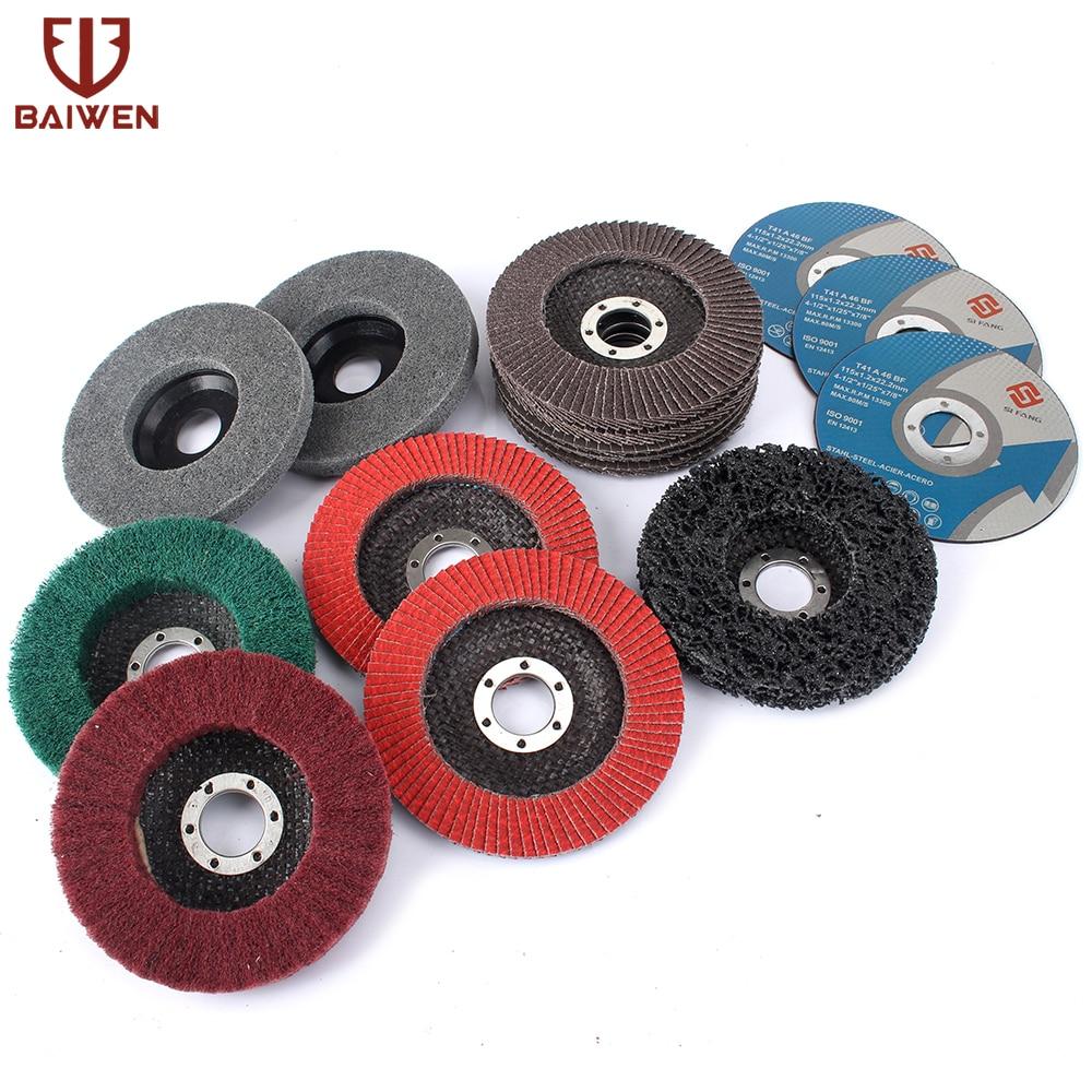 """2pcs 4/"""" Red Sisal Buffing Wheel Stainless Steel Metal Coarse Grinde Polish Tool"""
