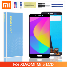 5.15'' Original LCD For Xiaomi Xiaomi 5 Mi5 M5 LCD Display Touch Screen Digitizer Panel Assembly Replacement For Xiaomi mi 5 стоимость