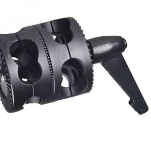 Image 4 - ユニバーサルブラケット調整可能な多機能ホルダーフォトスタジオグリップヘッドクランプデュアルスイベル写真アーム支持アクセサリー