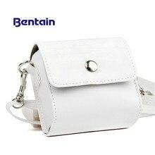 1 шт. модный белый чехол из искусственной кожи для принтера PAPERANG, фотопринтер, чехол для портативной камеры, аксессуары для путешествий